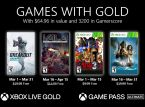 March's line-up for Xbox Games with Gold has been revealed