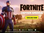 Captain America has entered the realm of Fortnite