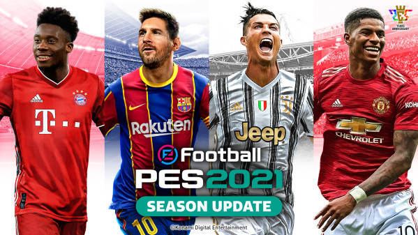 New eFootball PES 2021 update adds over 150 player face updates