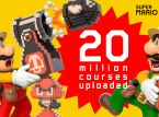 Over 20 million levels have been built in Super Mario Maker 2