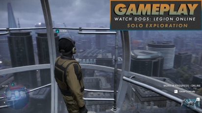 Watch Dogs: Legion Online - Gameplay (Solo Exploration)